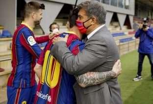 Laporta, Messi y el sentido común