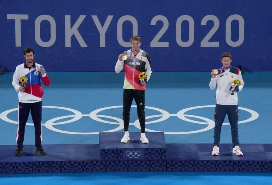 Tokio 2020: los tenistas (con sus medallas) regresan a casa