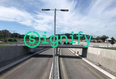 Signify aumenta la seguridad de los túneles largos de Europa