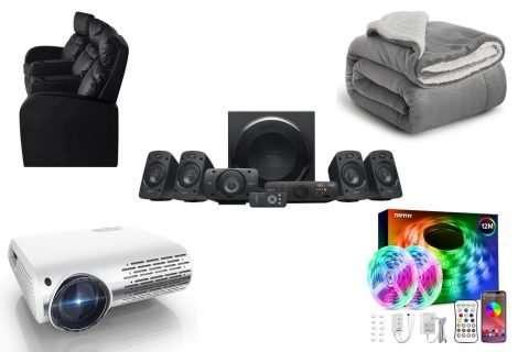 5 productos para una noche de películas en casa en octubre del 2021