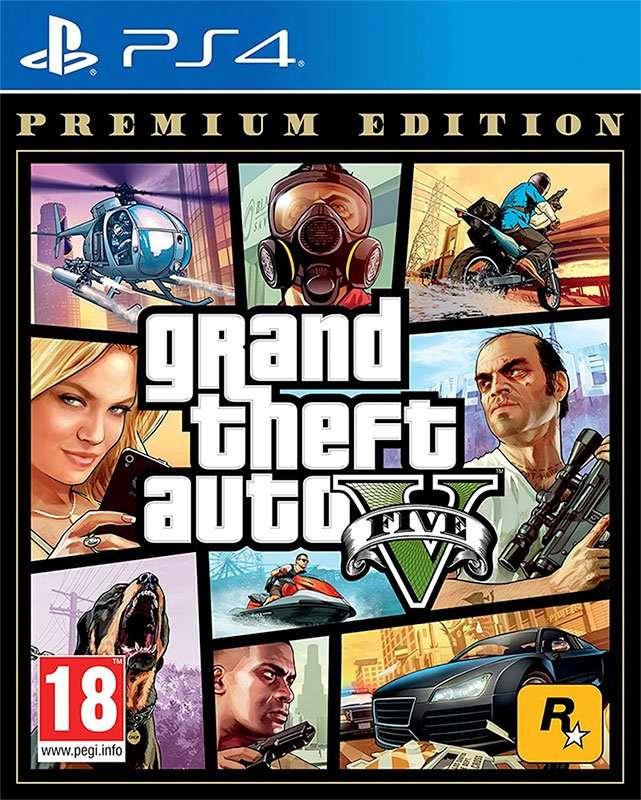 juegos de PS4 - gta v
