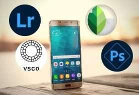 4 aplicaciones para editar fotografías en tu móvil