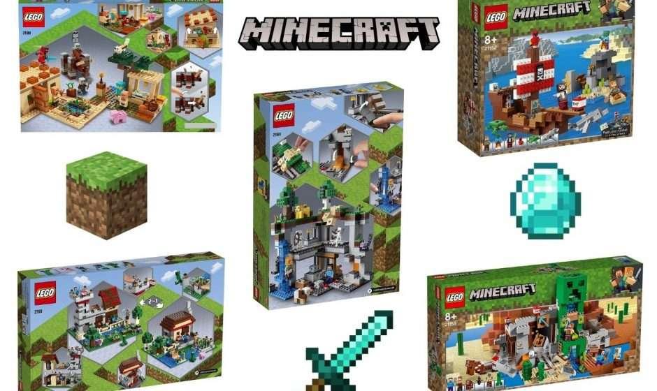 Los 5 Legos de Minecraft más vendidos en octubre del 2021