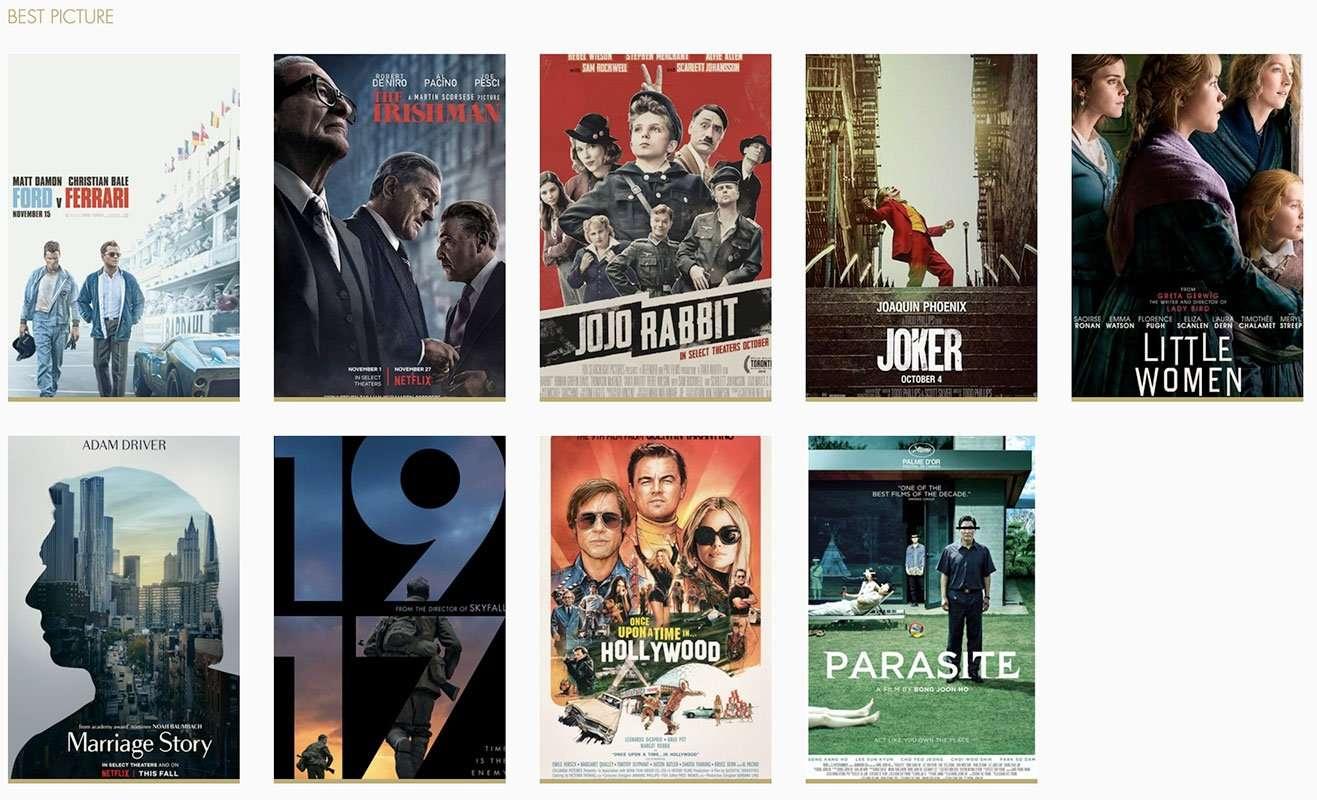 Nominados Mejor Película