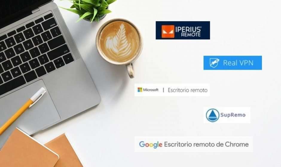 5 alternativas para lograr un escritorio remoto