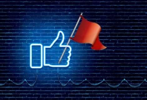 Banderas rojas: ¿por qué inundan Instagram, Twitter y otras redes sociales?