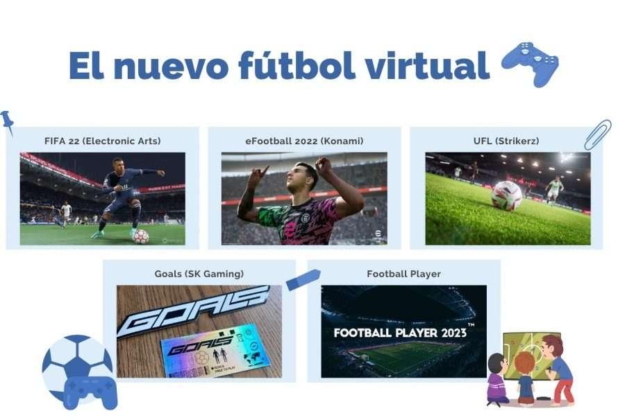 La diversificación del fútbol virtual: cómo pasamos de un duopolio a tener 5 opciones de juegos